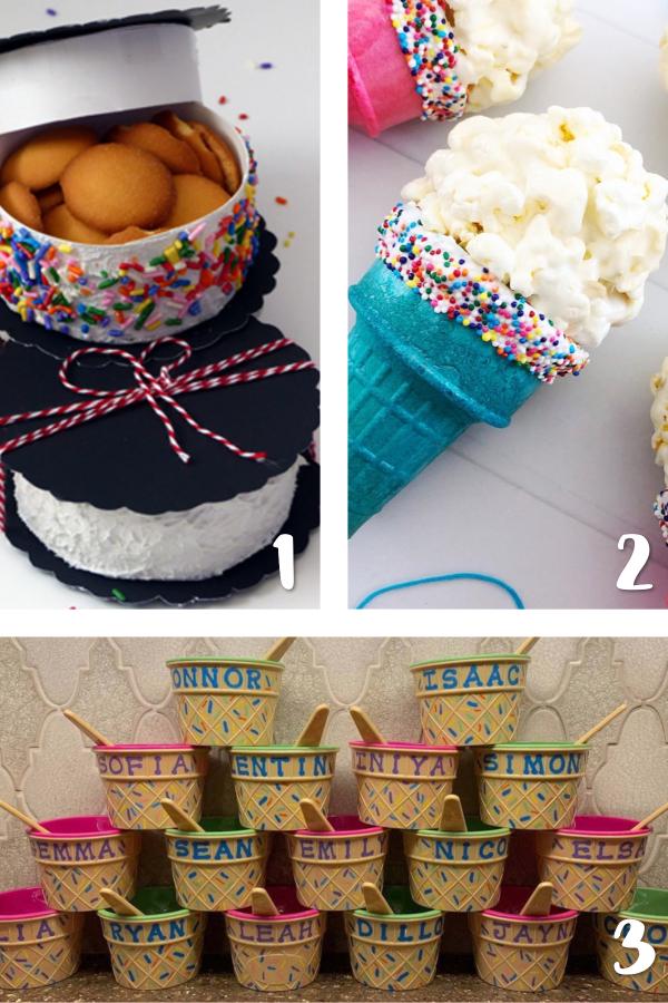 ice cream party favor ideas
