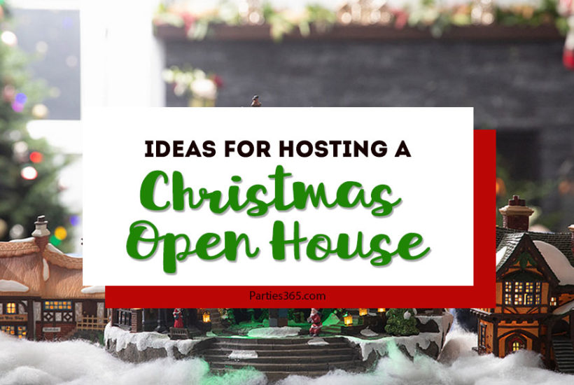 christmas open house party ideas