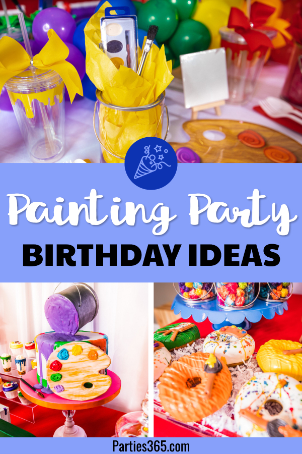 ideas for a painting party birthday