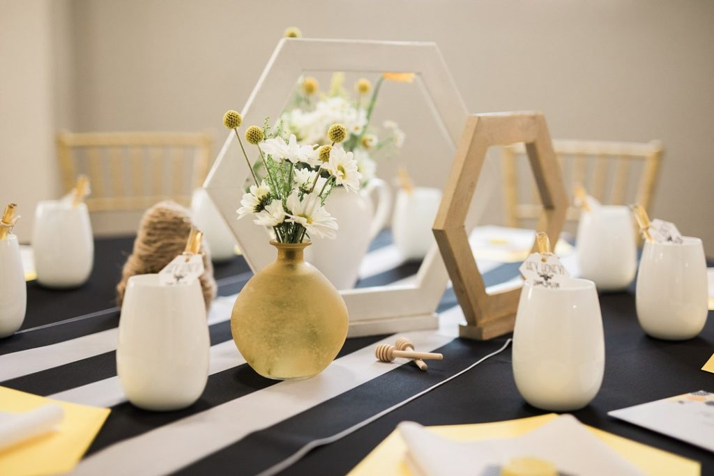 mommy to bee baby shower centerpiece ideas