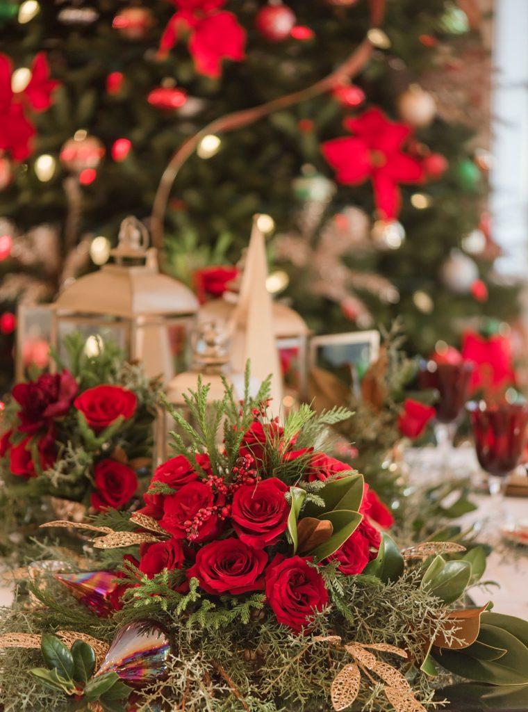 classic christmas table decor ideas