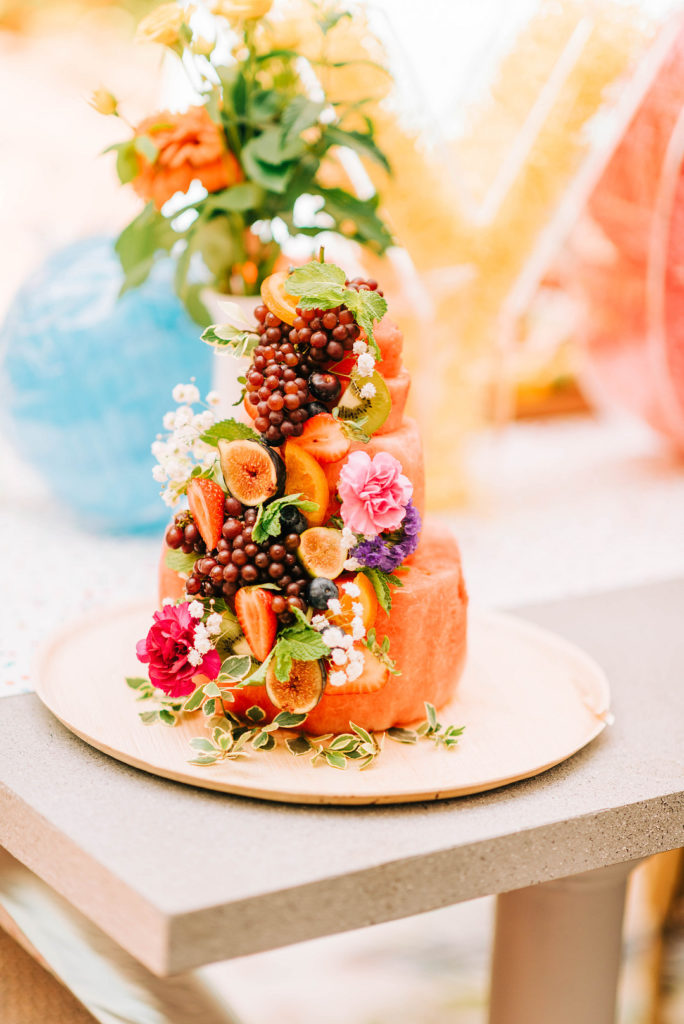 cake made from fruit