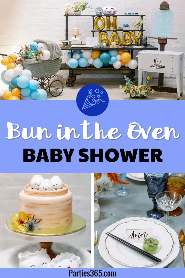 bun in the oven baby shower ideas