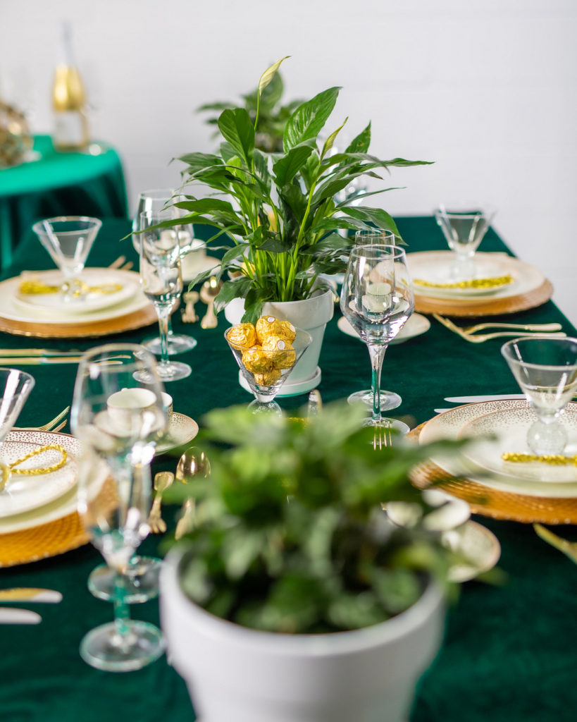 New Year's Party centerpiece ideas