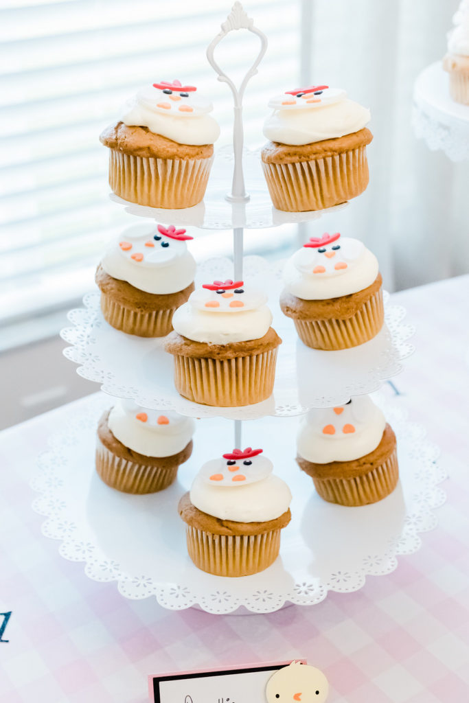 rooster cupcakes