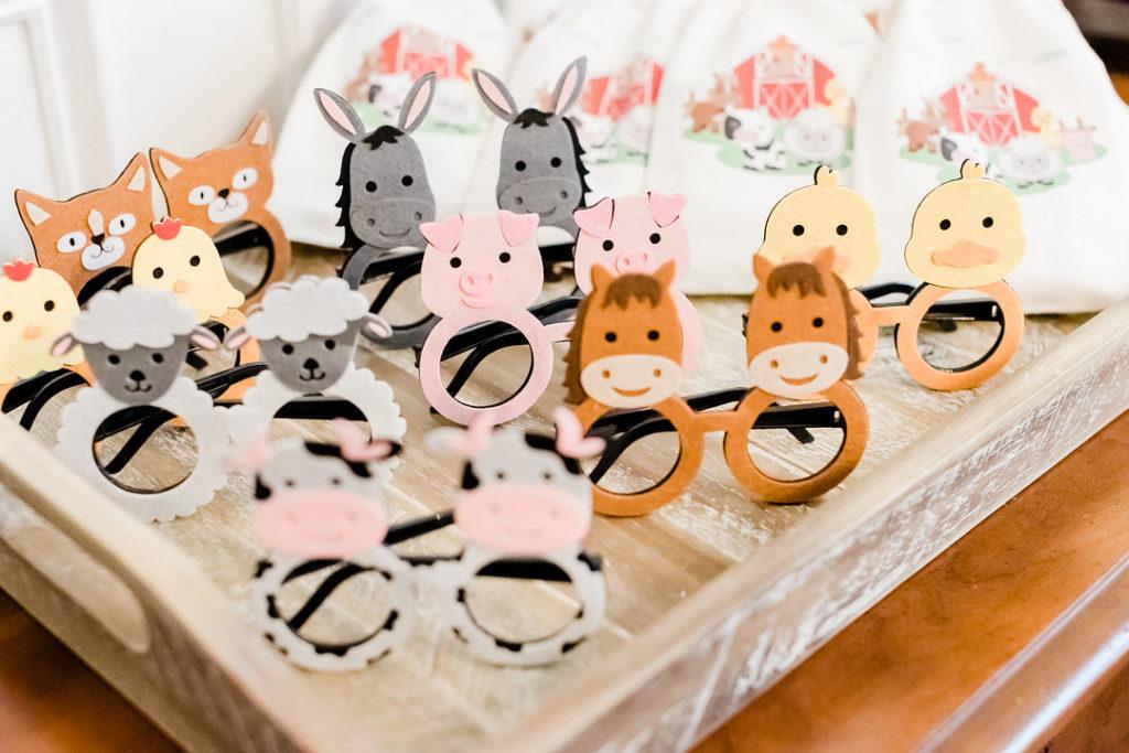 farm animal glasses for kids