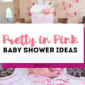 pretty in pink baby shower ideas