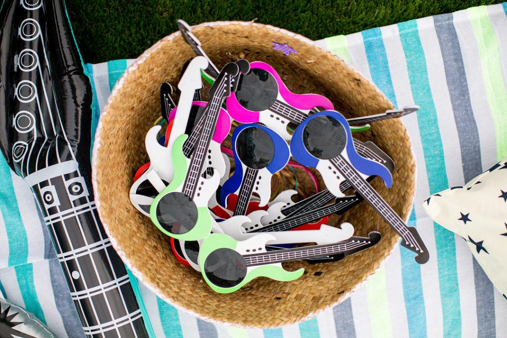 guitar sunglasses