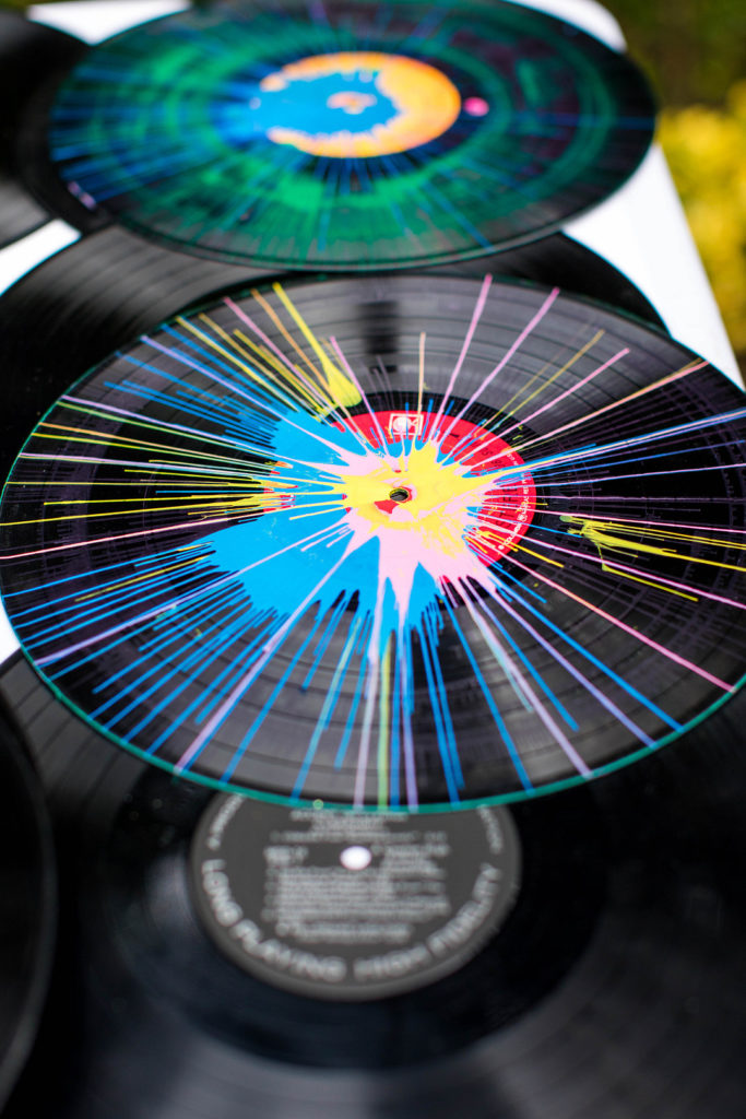 record spin art