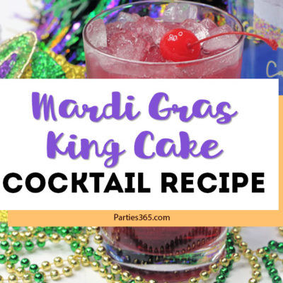 mardi gras king cake cocktail recipe