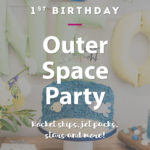 space first birthday party