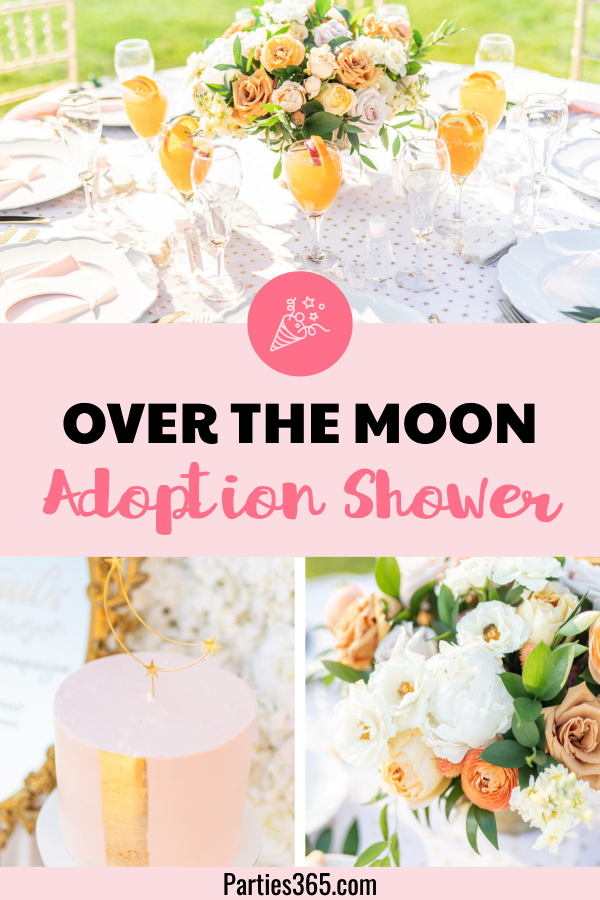 ideas for an over the moon adoption shower