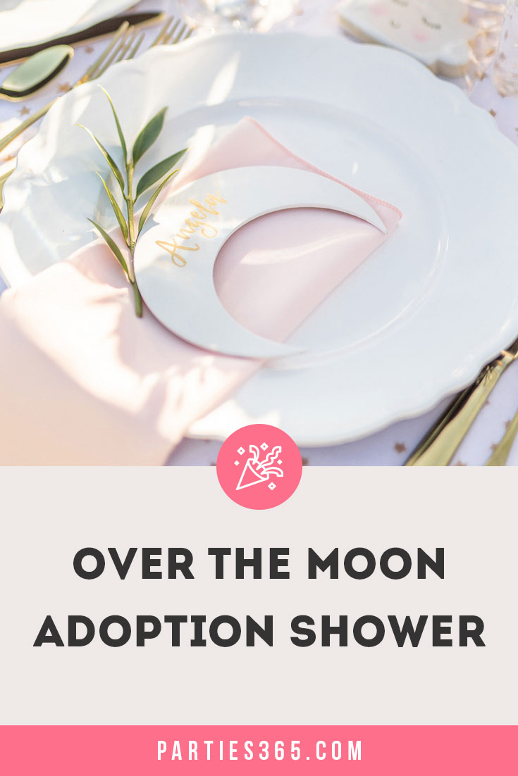 over the moon adoption shower