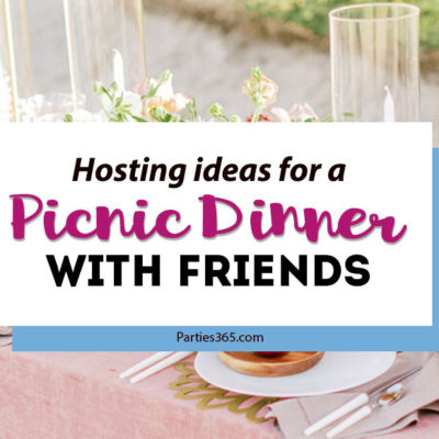 ideas for a picnic dinner for adults