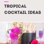 tropical cocktail ideas