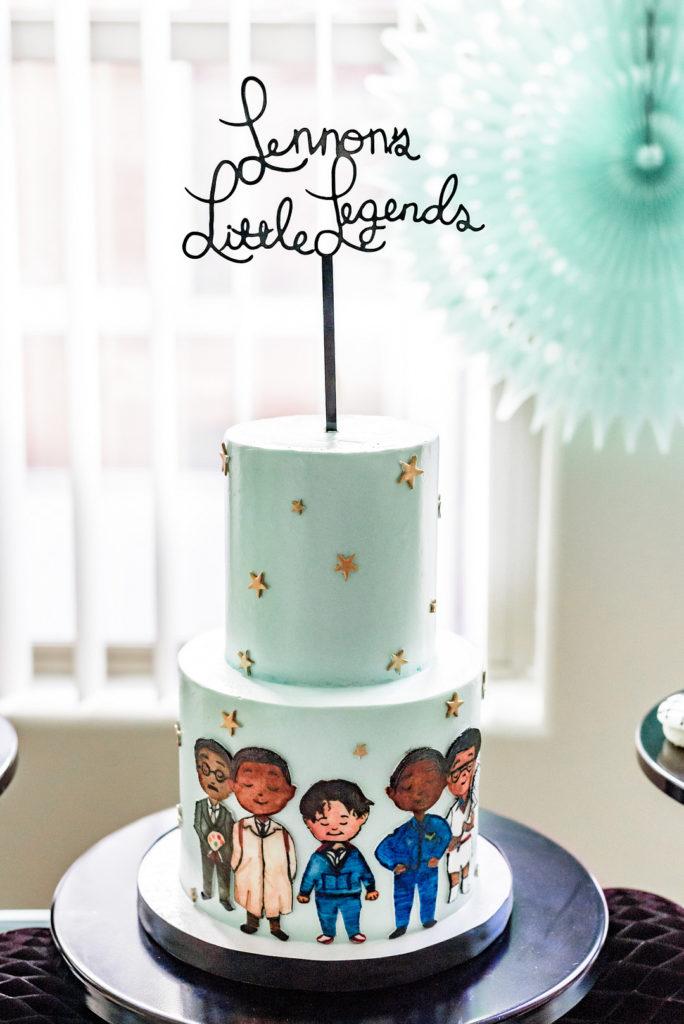 little legends custom birthday cake