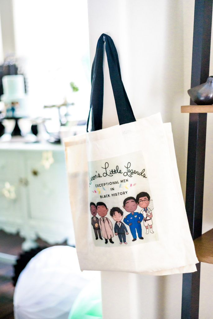 party favor tote bag